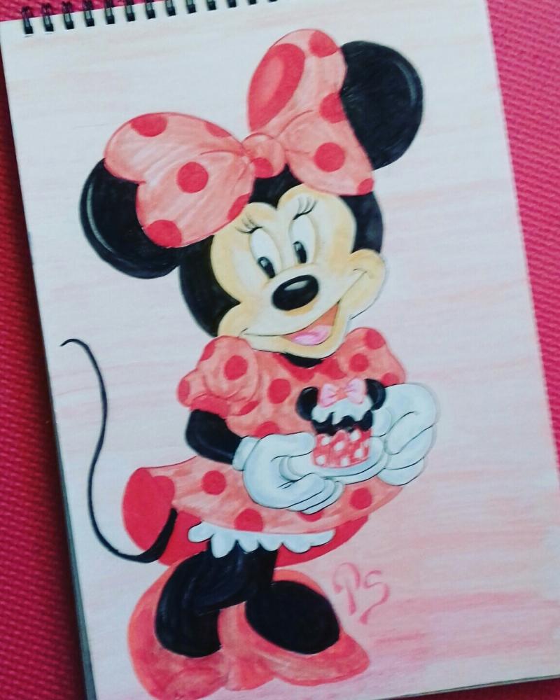 Minnie Mouse por PenStilos